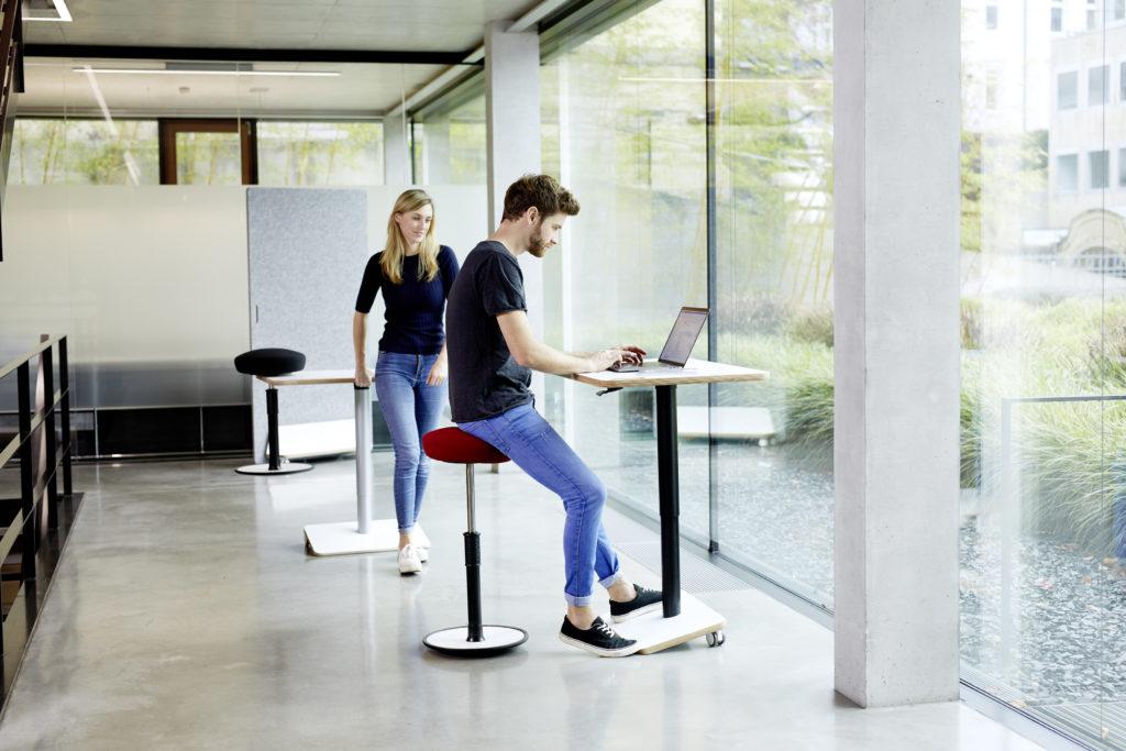 Ongo Spark bureau mobile réglable en hauteur